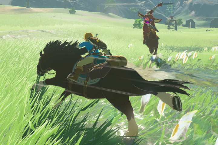 Get all the best horses, including the Lord of the Mountain, in 'Zelda: Breath of the Wild'