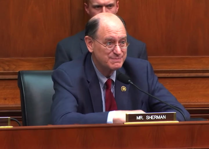 congressman wants cryptocurrency banned in america brad sherman