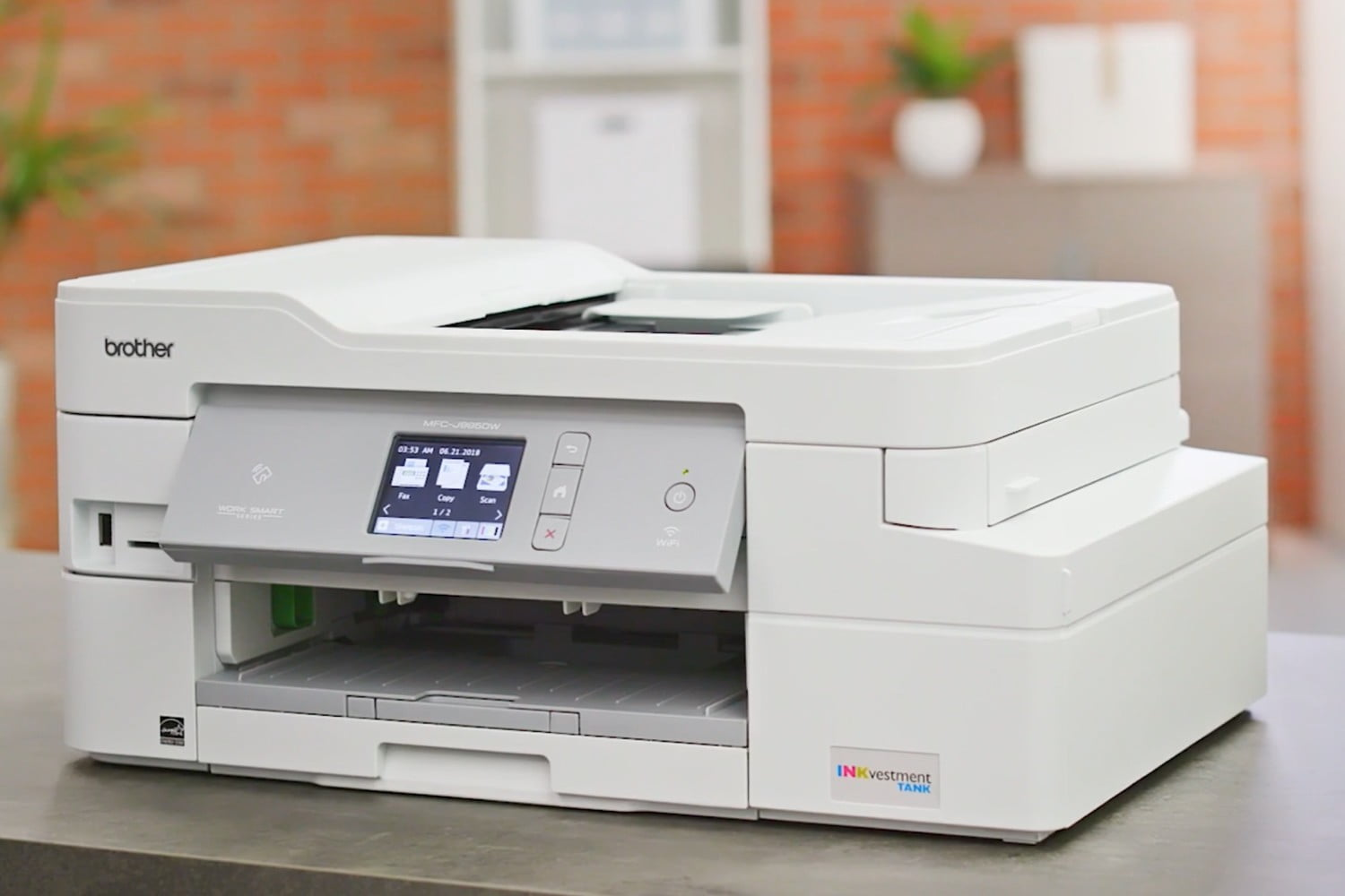 Brother's New Printer Can Go A Year Before Needing an Ink