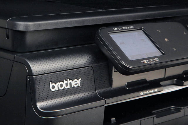 Brother MFC-J870DW front screen angle