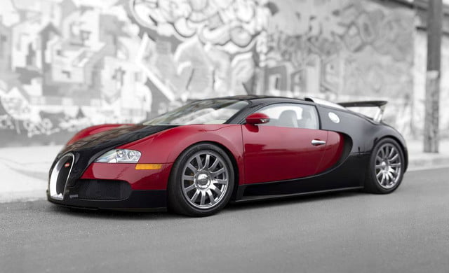 First Bugatti Veyron Sells For 1 8 Million At Auction Digital Trends