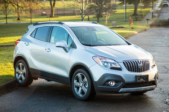 2014 buick encore front angle