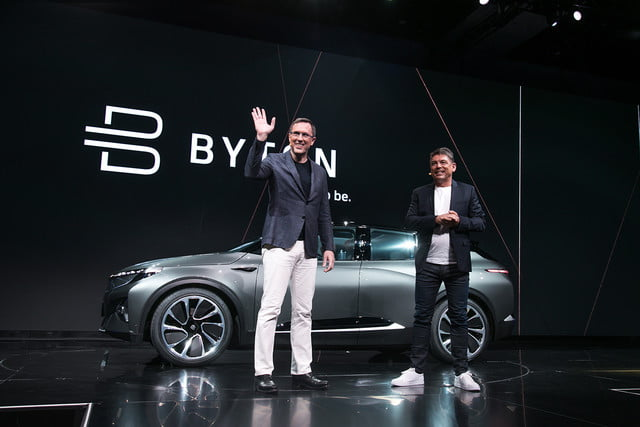 byton concept reveal ces 2018 electric intelligent suv makes global debut at  5