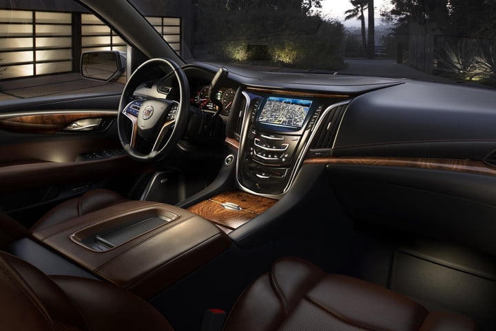 Beautiful 2015 Cadillac Escalade Interior Less Liberace More Leather Tease 3 2 Design Inspirations