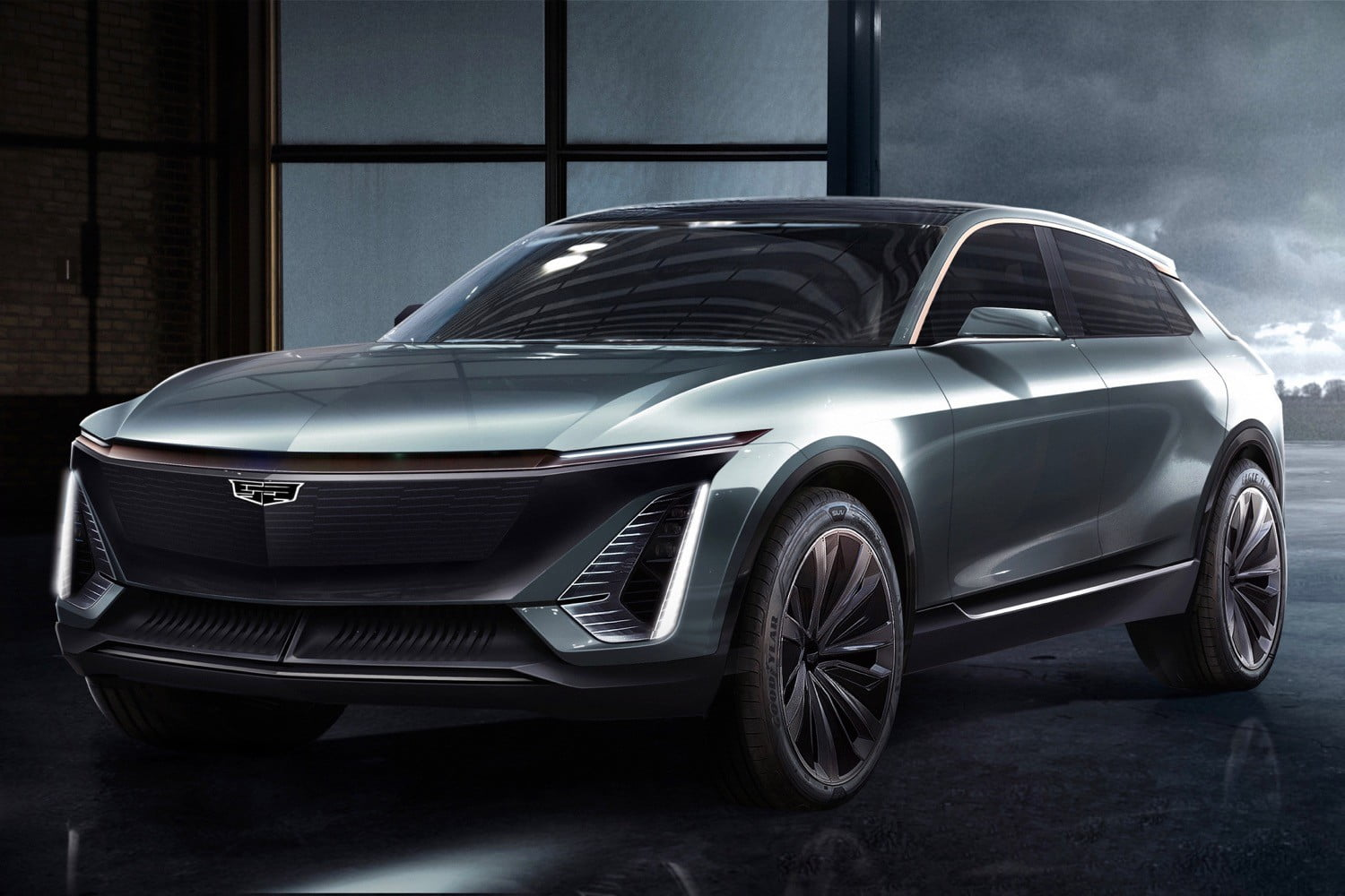 Cadillac Previews Its First All Electric Model At 2019 Detroit Auto Show Digital Trends
