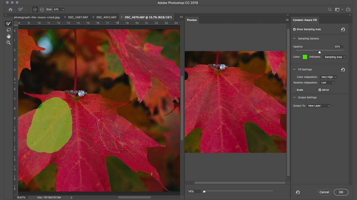 How to Remove An Object in Photoshop Using Content Aware Fill