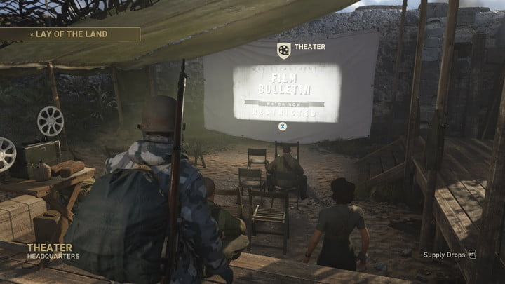 Call of Duty: WW2 Headquarters guide - Theater