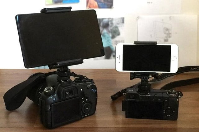 camlet mount connects android ios devices with dslr mirrorless cameras 5