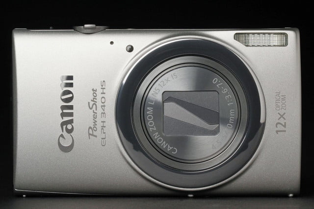 Canon ELPH 340HS front closed