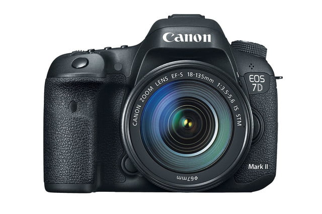 hands on review canon eos 7d mark ii front press image