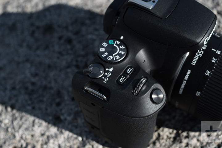 Canon EOS Rebel SL2 review buttons