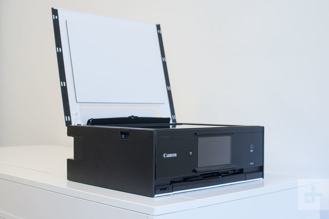 Canon Pixma TS9020 review scanner bed