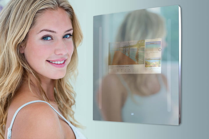 capston google enabled smart mirror changes how you get ready capstone header