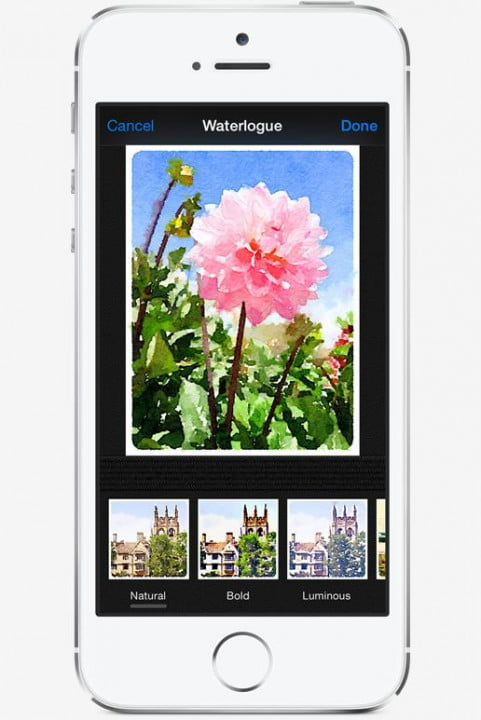apple ios8 photos app features capture filters thirdparty