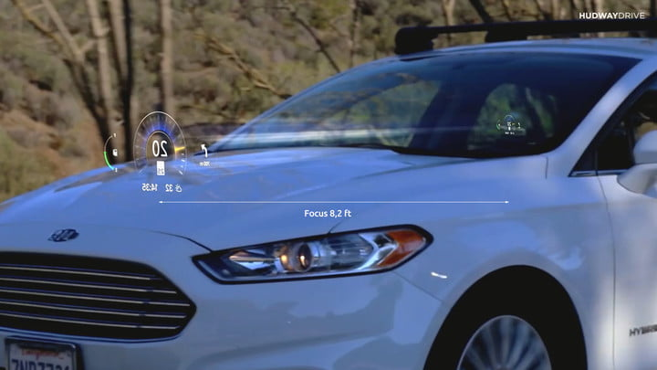 hudway drive heads up display hands on review car