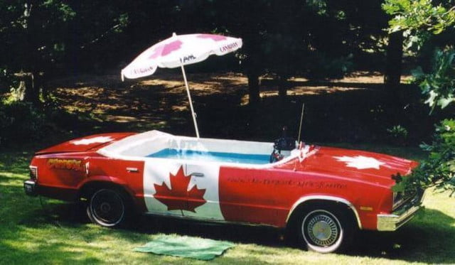 carpool deville the worlds fastest hot tub mk 1