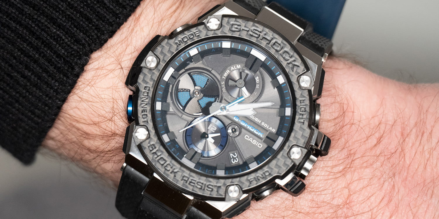 4c258e09eb55 Casio's All-Metal G-Shock Uses its Smart Tech Carefully, For Full Effect |  Digital Trends