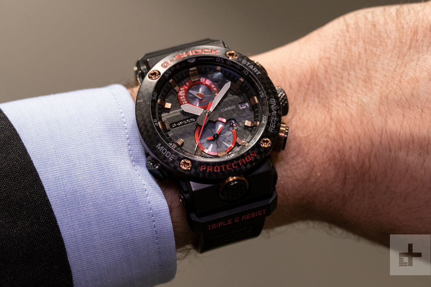 555e327ae5 Carbon Fiber is Making Casio's New Connected G-Shocks Even Tougher ...