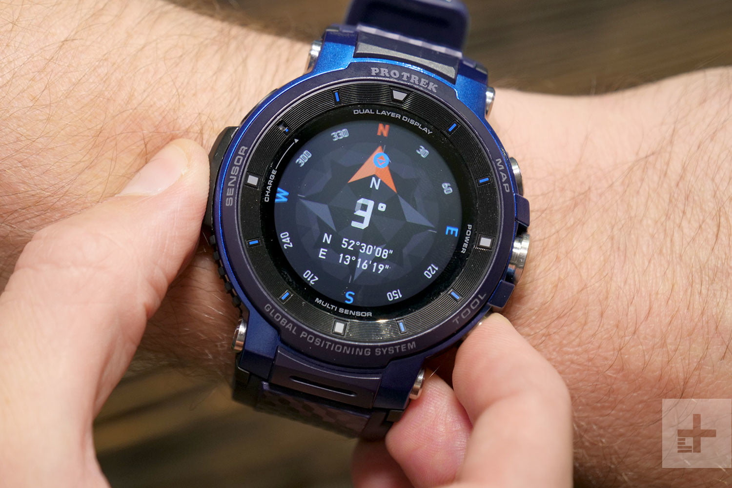 casio pro trek wsd f30 hands on review digital trends