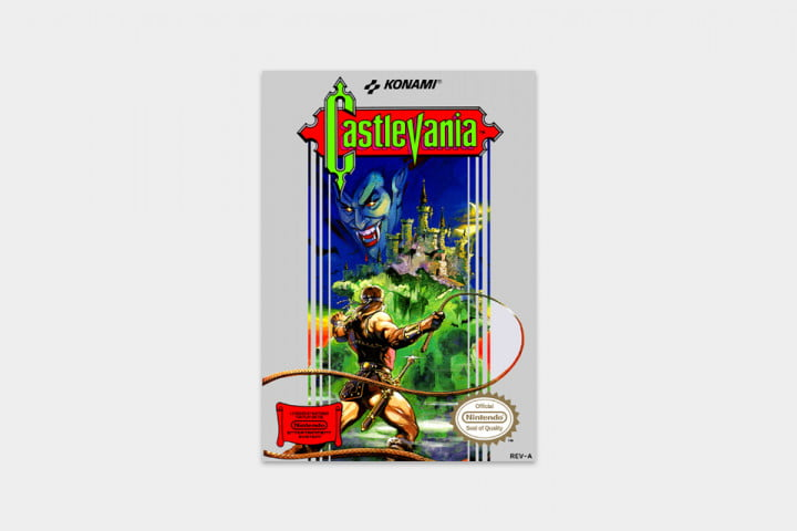 best nes games ever castlevania cover