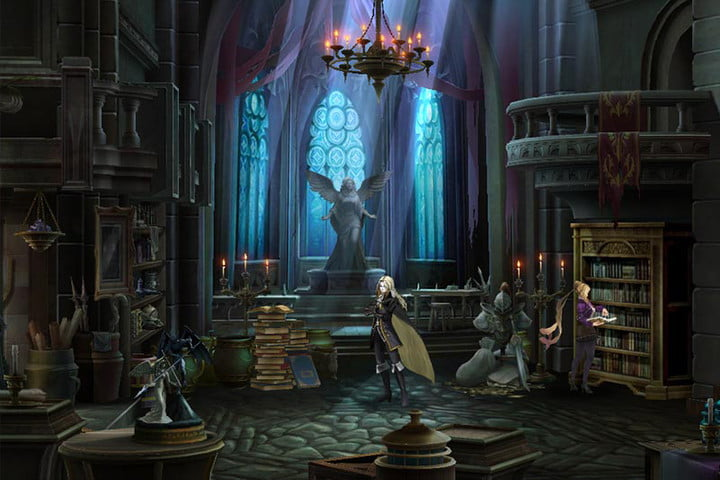 Castlevania Grimoire Of Souls Announced For Ios In Japan Digital