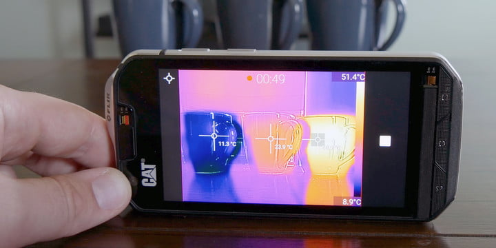 Cat S60 Thermal Smartphone Video Review