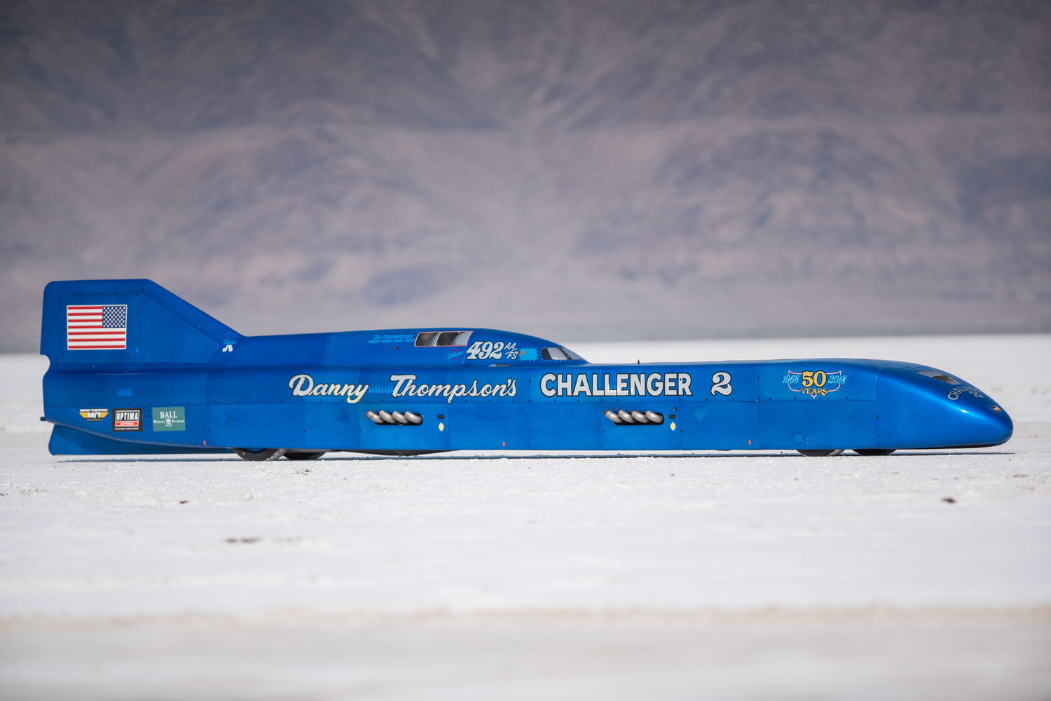 Danny Thompson Just Set A Land Speed Record In A 50 Year