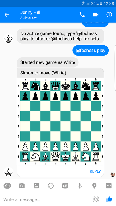 facebook messenger tips and tricks chess