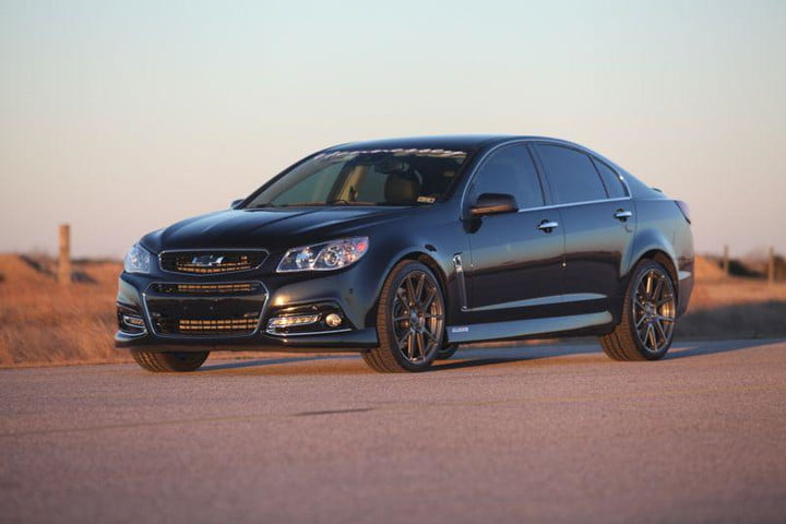 Chevrolet Ss Produces 1 000 Hp With Hennessey Hpe1000 Package