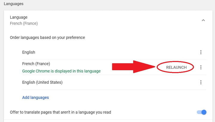 How to Change Your Language in Google Chrome | Digital Trends