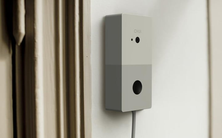 Chui is a smart doorbell that can recognize faces and play custom greetings for your guests