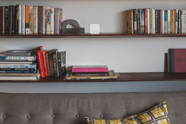 circle with disney device in home