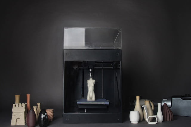 3d clay printer gives bowls vases 21st century spin clayxyz whole set