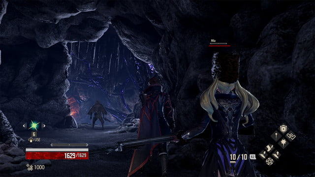 Code Vein review cave