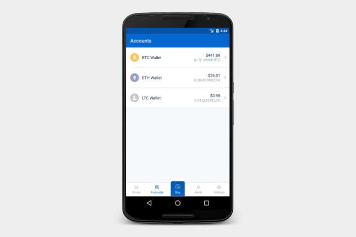 Beste Cryptocurrency-Apps Coinbase-App