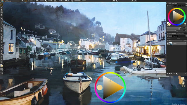 corel painter 2019 announced color  enhancements photo workflow