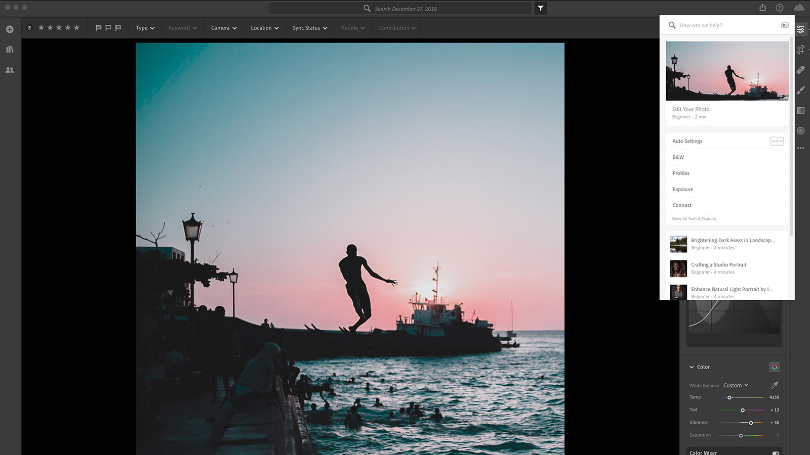 Lightroom Adds Texture Slider -- And Tools To Teach You How To Use
