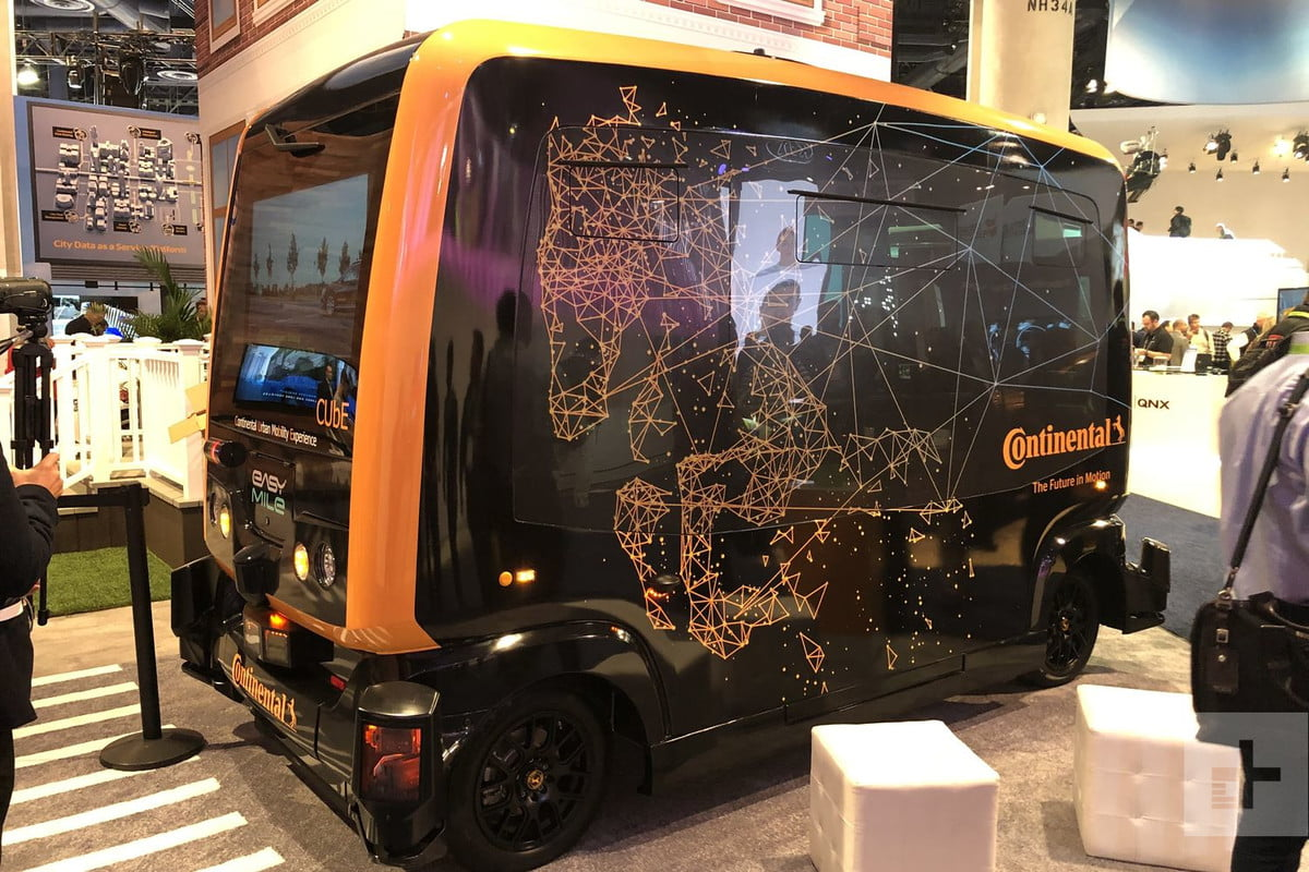 Continental Urban Mobility Experiment (CUbE)