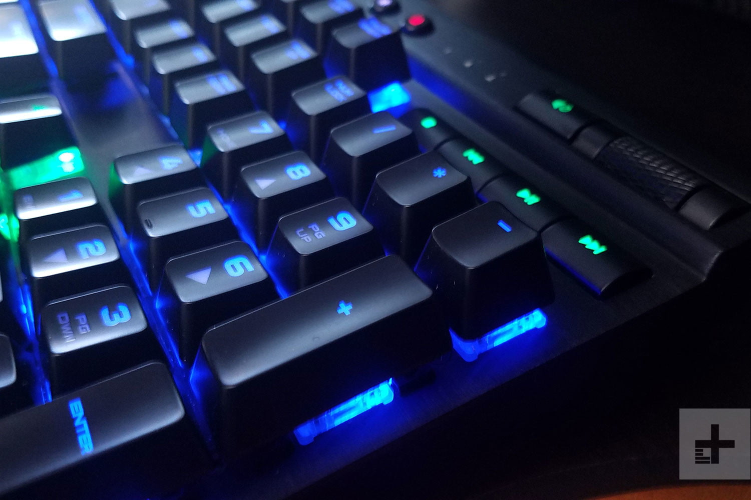 Corsair K70 Rgb Rapidfire Review Mechanical Gaming Keyboard Red Switch Used
