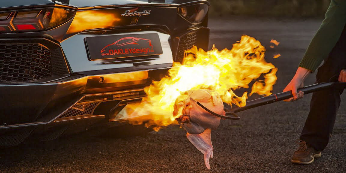 From flashlights  to fireballs, 5 dubious but hilarious way to cook a turkey