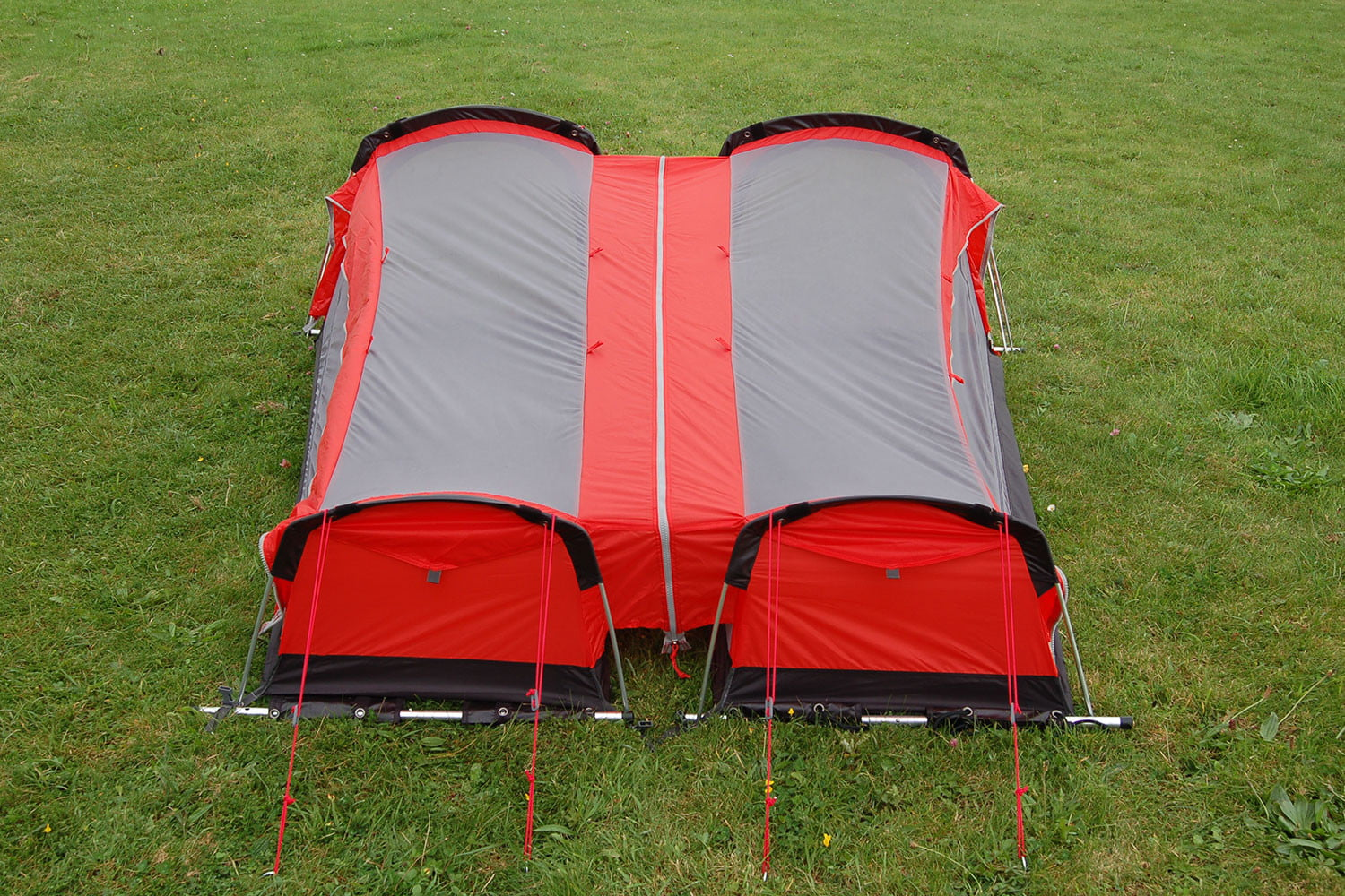 The Hybrid comes with a custom-fitted sleeping bag, which zips into the  base of the tent. When installed, the sleeping bag doesn't move at all, ...