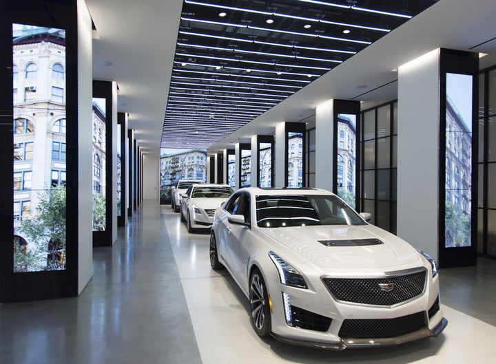 Digital Dealers Cadillac Considering VR Showrooms With Headsets - Cadillac dealers ct