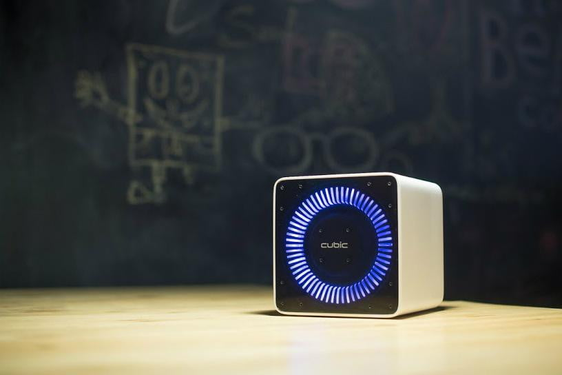 Cubic Is a Voice-Activated Personal Assistant Robot