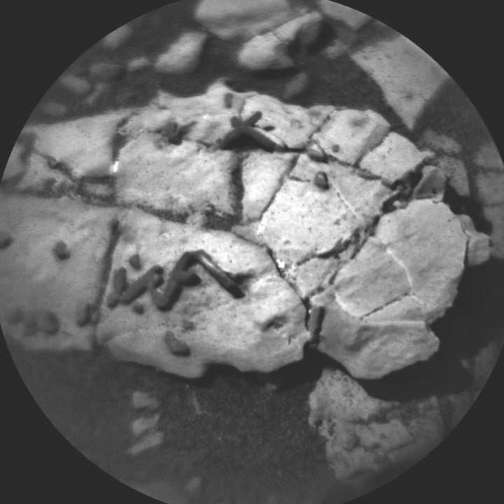 Did the Curiosity Rover just discover evidence of alien fossils on Mars?