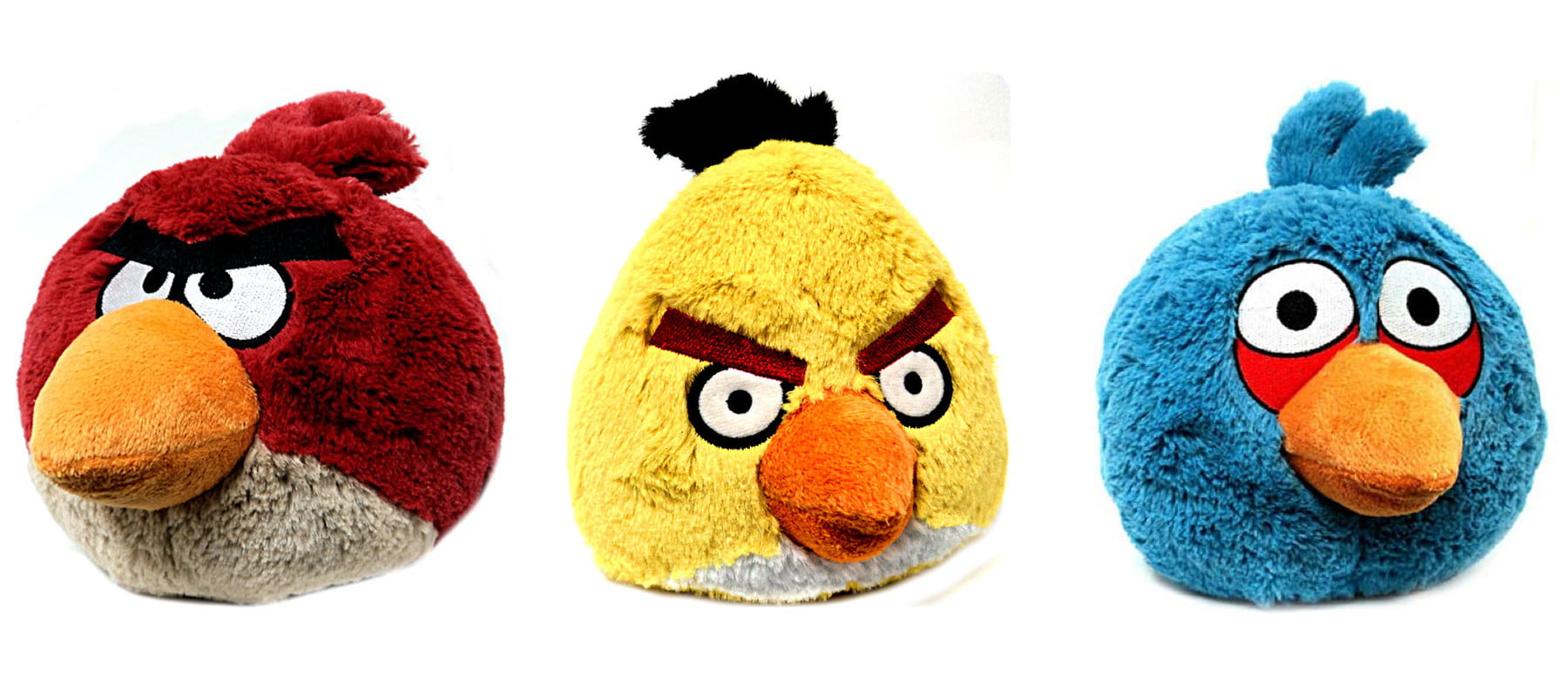 Angry Birds Toys : Plush angry birds toys are perfect for hurling at your