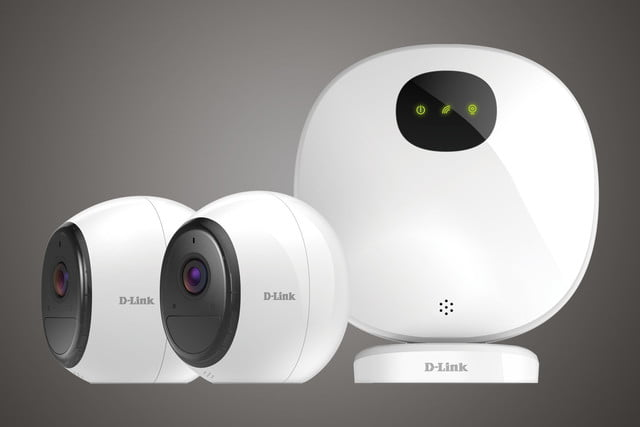 D-Link Wire-Free home security camera system