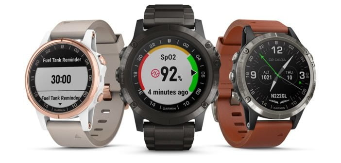garmin fitness trackers sport watches d2 delta family