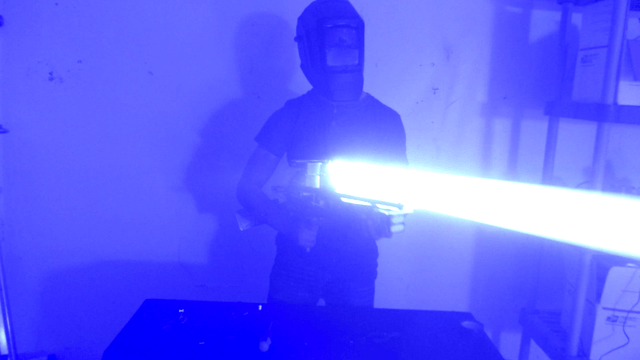 A DIY laser bazooka is the most terrifyingly awesome thing you'll see today