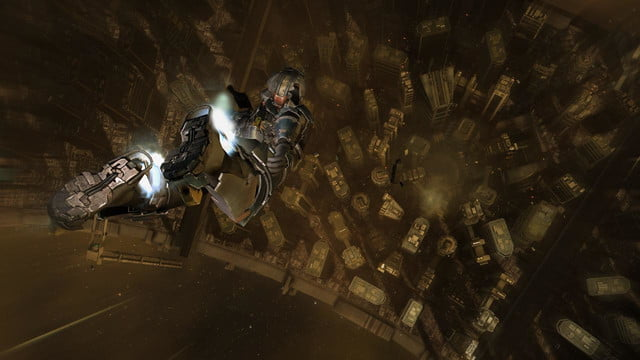 dead space 2 free fall