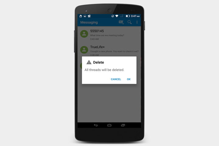 How to delete and recover your text messages in android digital how to delete all message threads at once ccuart Image collections